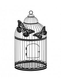 tampon cage à oiseaux (D)