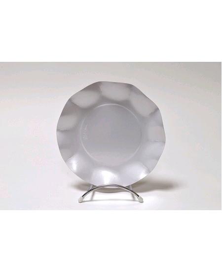 assiette blanche perléx10/D21cm carton