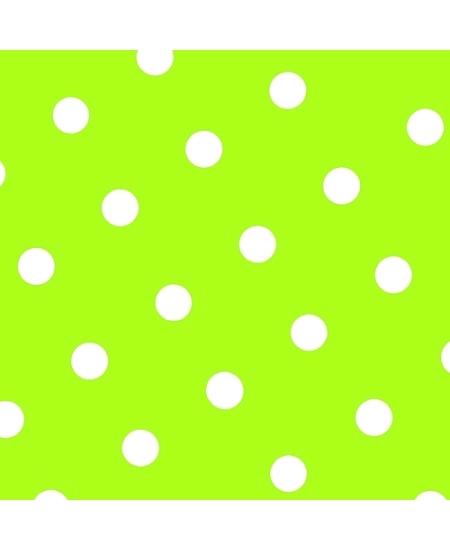 serviettesx20/3plis vert anis/jaune