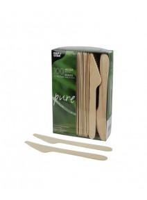 couteaux x100/16.5cm en bois