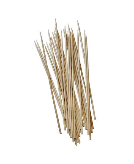 250 brochettes de 30cm en bambou