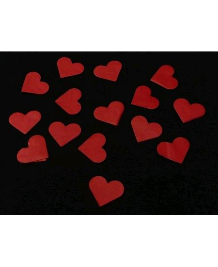 canon à confetti coeur rouge 30cm