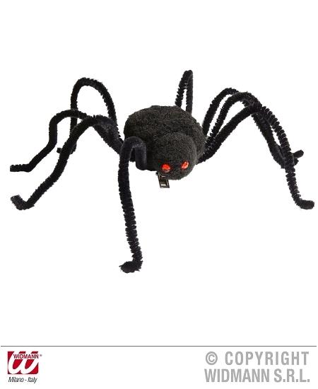 épingle avec araignée noire