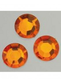 500 cabochons D4mm orange