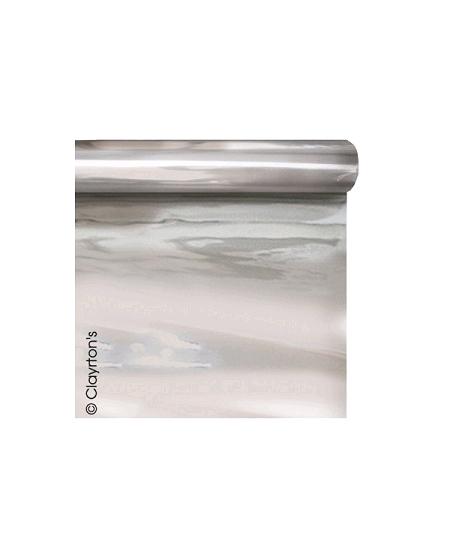 film métal 70cmx50mètres argent