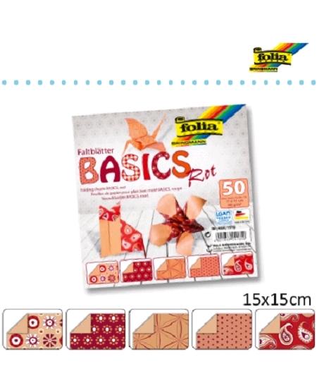 50 feuilles origami 15x15cm 80grsm²
