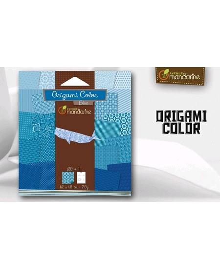 papier origamix20 turquoise