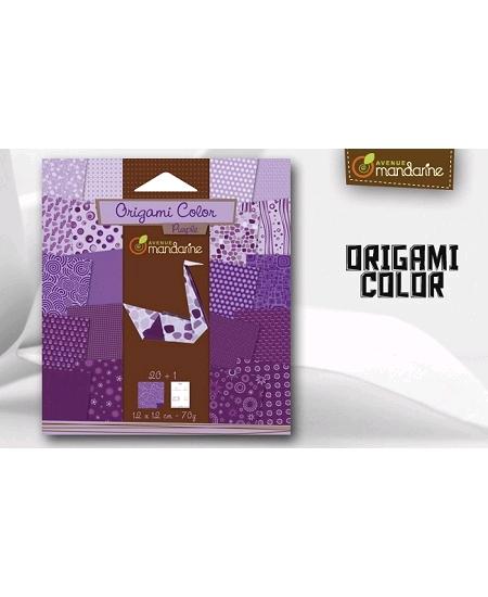 papier origamix20 violet