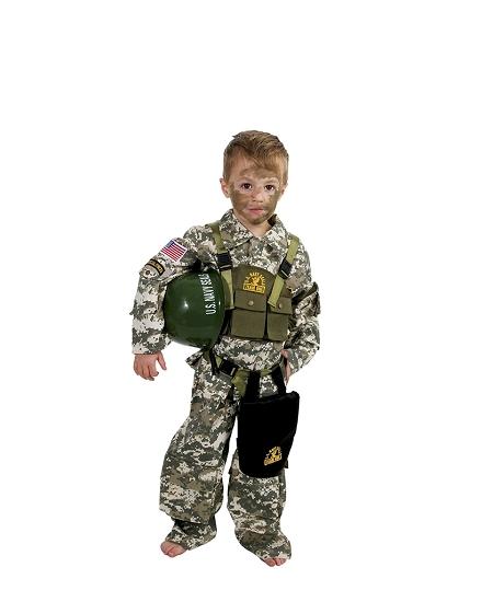 deguisement 4 5ANS Navy Seal