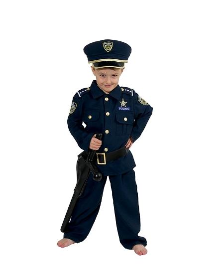deguisement 4 5ANS policier