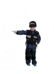 deguisement 4 5ANS agent SWAT