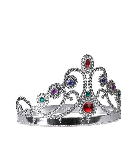 couronne de princesse en plastique