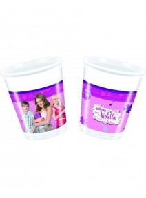 8 gobelets de 20cl Violetta
