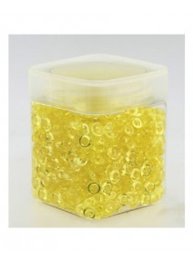 perles de pluie jaune 120grs