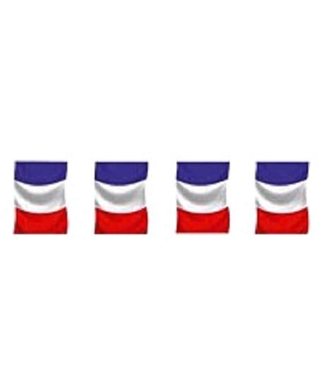 guirlande 5M drapeaux France