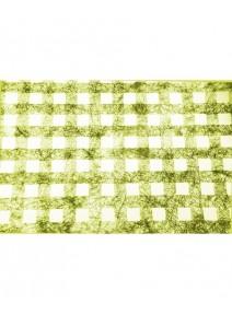chemin de table 5Mx30cm vert carreaux