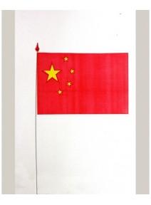 drapeaux x10 chine 9.5x16cm