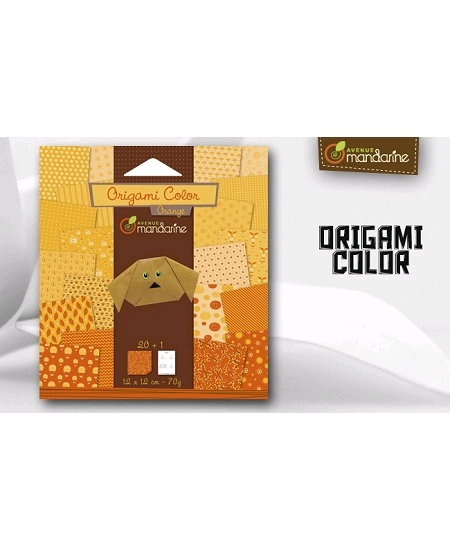 papier origamix20 orange