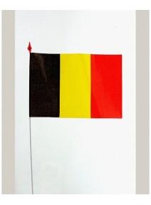 drapeaux x10 belgique 9.5x16cm