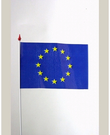 drapeaux x10 europe 9.5x16cm