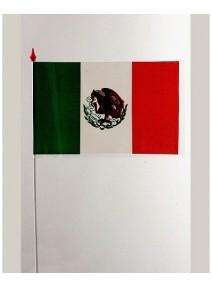 drapeaux x10 mexique 9.5x16cm