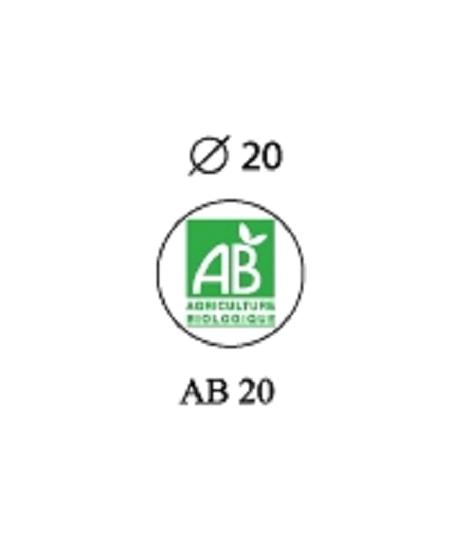étiquettesx500/D2cm Agriculture biologiq