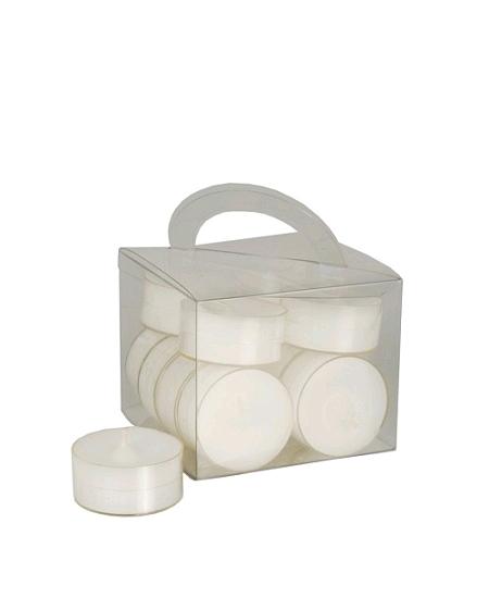 12 chauffe plats D3.8cm blanc
