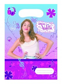sachets cadeaux x6 Violetta