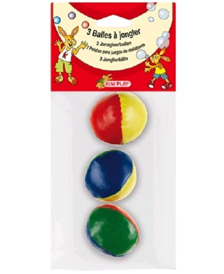 3 balles à jongler 5cm