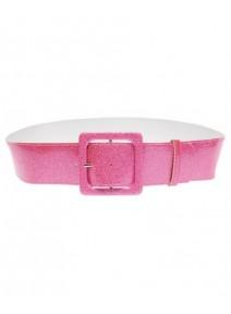ceinture pailletée rose  1M05