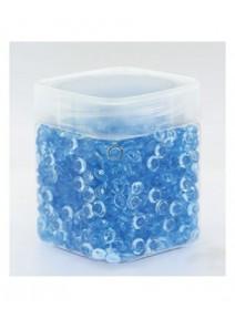 perles de pluie bleu 120grs