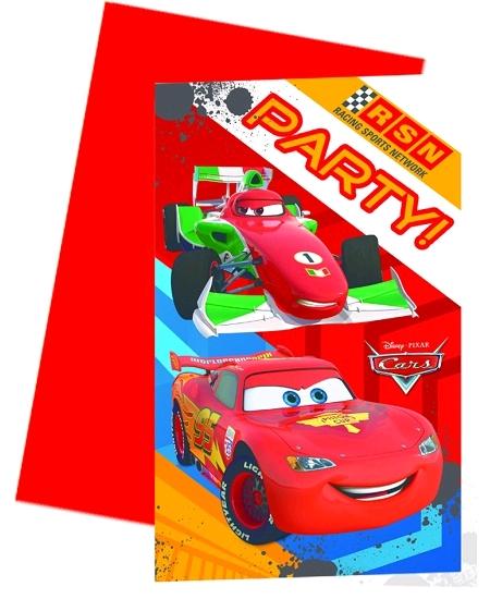 cartes d`invitationx6 Cars