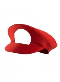 casquette plombier rouge