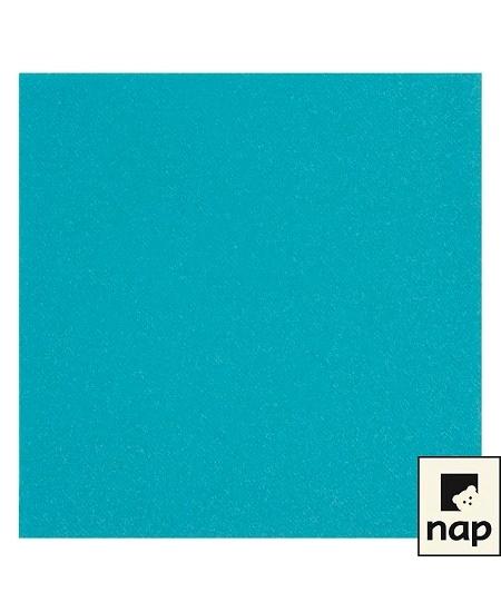 serviette turquoisex50/VS 40x40cm