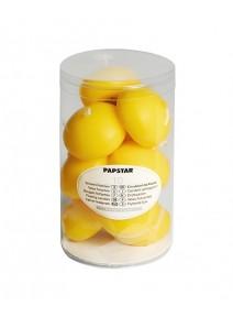 bougies flottantesx10/D4.5cm jaune vif