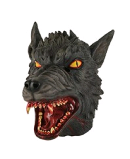 masque souple loup