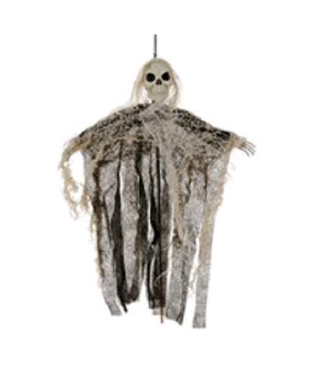 squelette sur bâton 30cm