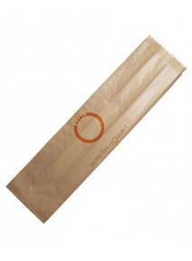 sac sandwichx1000/10+6x35cm kraft brun