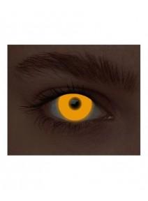 paire de lentilles néon orange