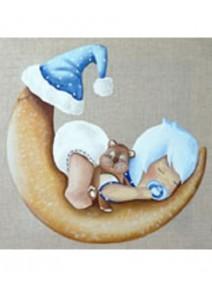 image 3D/30x30cm Lilou bébé garçon