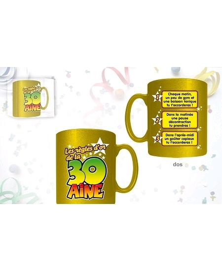 mug or de la 30AINE