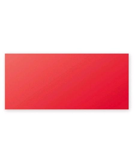 carte simplex25/106x213mm rouge groseille 210grs p