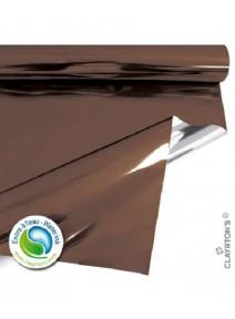 film métal 70cmx50mètres chocolat