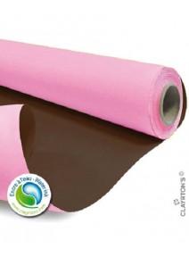 kraft 40Mx79cm/60gm rose/chocolat