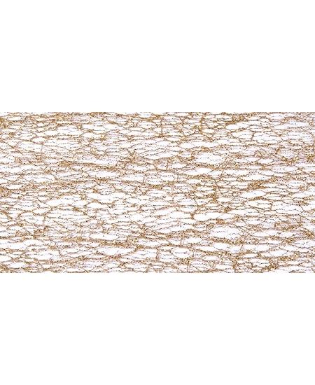 chemin de table 30cmx5M or pailleté