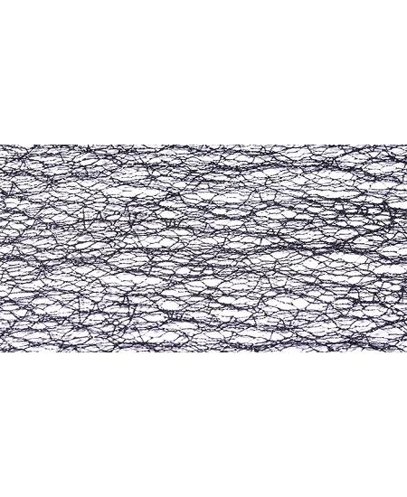 chemin de table 30cmx5M noir pailleté