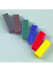 bâtonsx6 assortis pigment coloré
