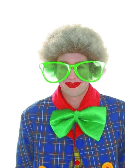 lunette géante vert pomme