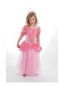 deguisement 8 10ANS princesse rose