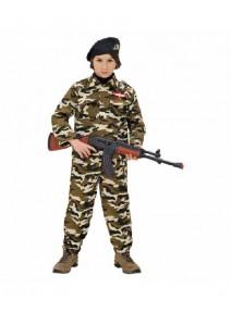 deguisement 3 4ANS militaire